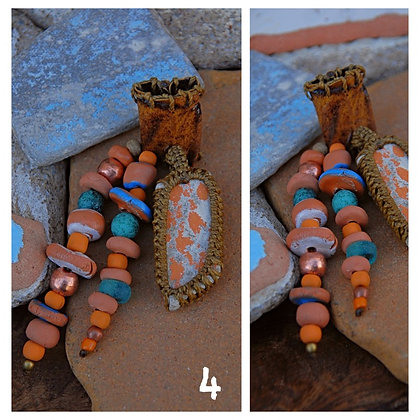 Dreadbead Seapottery beads