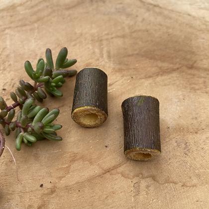 Dreadlock bead hout 2 stuks