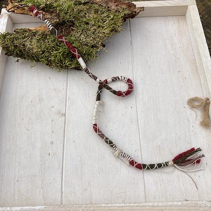 Dreadwrap bergkristal hanger