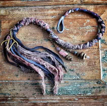 Dreadwrap Purple Branche 50 cm
