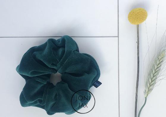 Scrunchie Turquoise Velvet