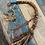 Thumbnail: Dreadwrap Jaspis gemstone 30 cm