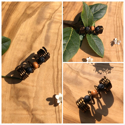 Dreadlock diffuser bead middle