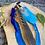 Thumbnail: Boho Veren  Clip-in Blue Small