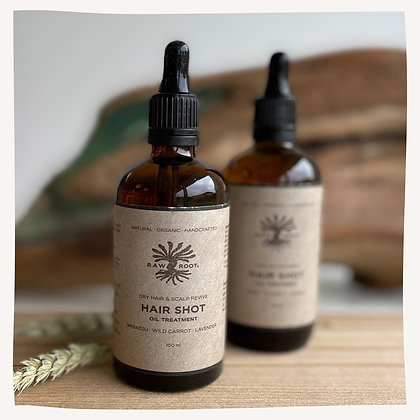 RAWROOTs Dry Hair Shot & Scalp Revive - Oil Treatment
