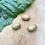 Thumbnail: Houten Beads 3 stuks