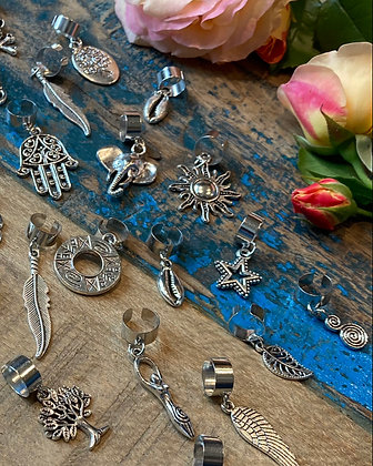 Dreadlock Beads Zilver 2.0