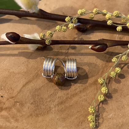 Ocean Jaspis bead Small
