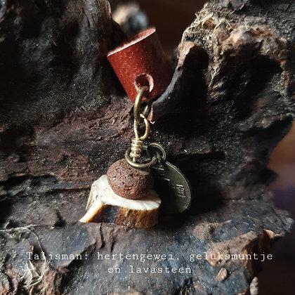Dreadlock bead lava