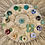 Thumbnail: Gemstone set op populieren plankje