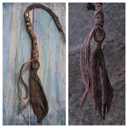 Dreadwrap brown seapottery