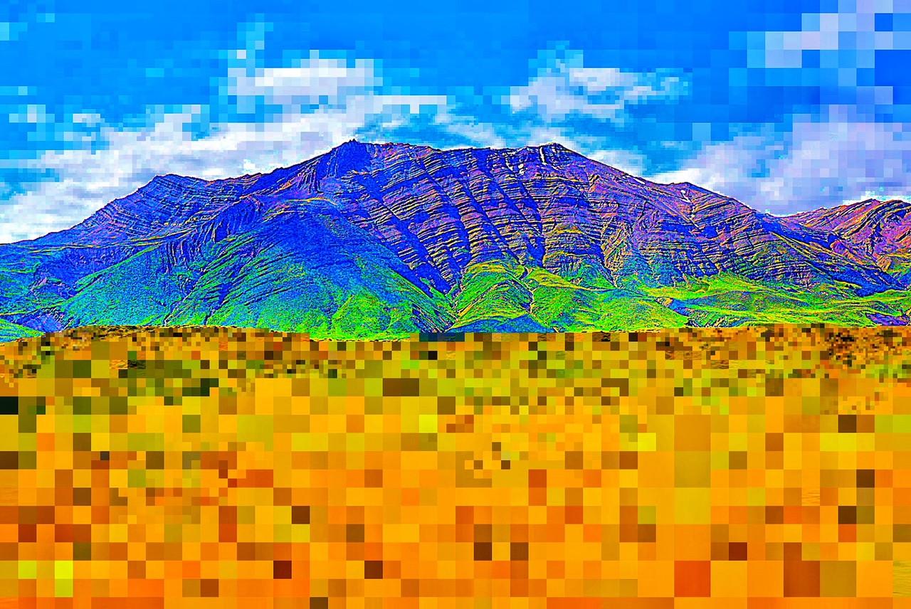 Pixel Mountain