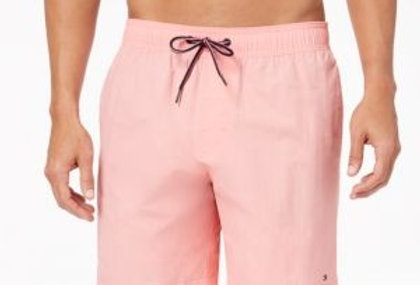 Tommy Hilfiger Men's Tommy Swim Trunks, Pink P19