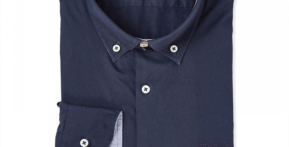 Balmain Paris Men's Navy Blue Casual Shirt 180