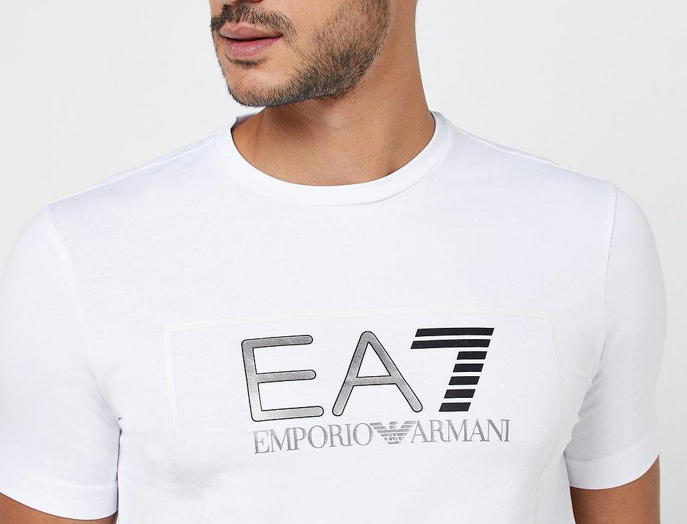 EA7 EMPORIO ARMANI Logo Series Squared Crew Neck T-Shirt 6gpt09 pj20z