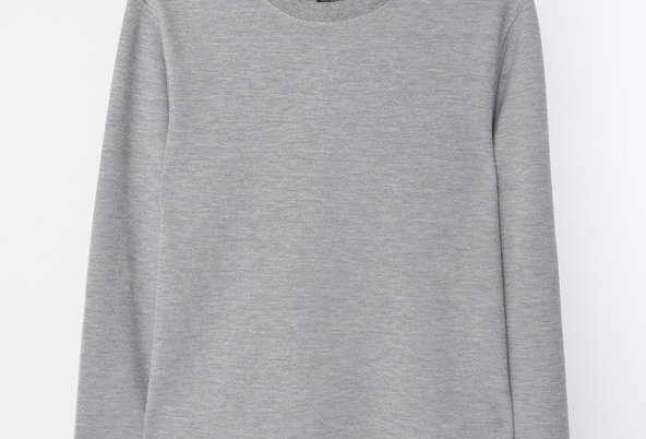 Scotch and Soda Men's Grey Long Sleeve Sweatshirt 142226 69