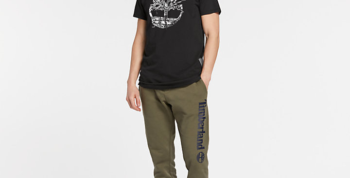 Timberland MEN'S REFLECTIVE CRACKLE LOGO T-SHIRT A1MKE 001