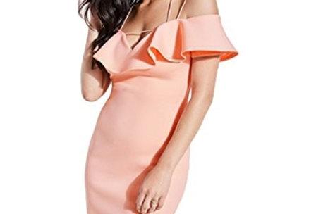 Guess  Peach Queen Off Shoulders Mara Dress P72