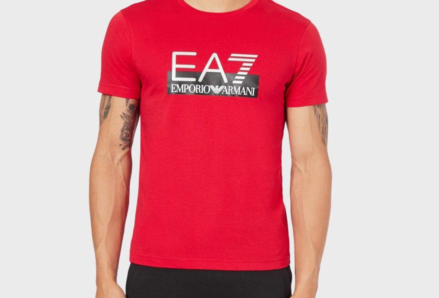 EA7 Emporio Armani T-shirt 6GPT81 PJM9Z 1450 - Tango Red