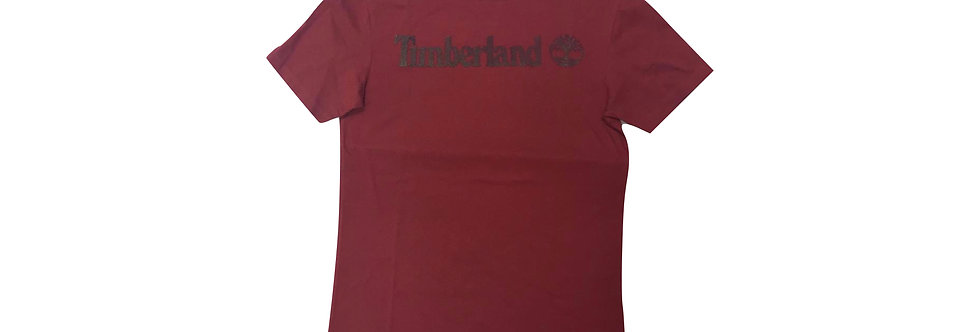 Timberland Men's Maroon T-Shirt 50