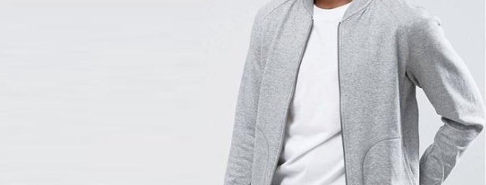 Adidas Men Grey Long Sleeve Track Jacket 99