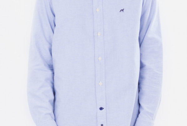 Sacoor Men's Oxford Light Blue Shirt P150