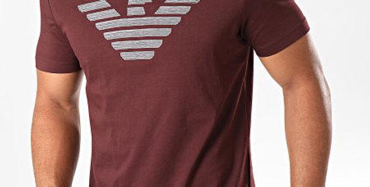 EA7 EMPORIO ARMANI T-Shirt Rosso Vinaccia 6g1tc0 1j00z 0348