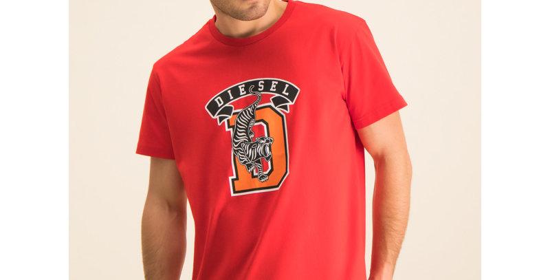DIESEL T-Shirt T-Diego-B4 00SXMJ 0091A