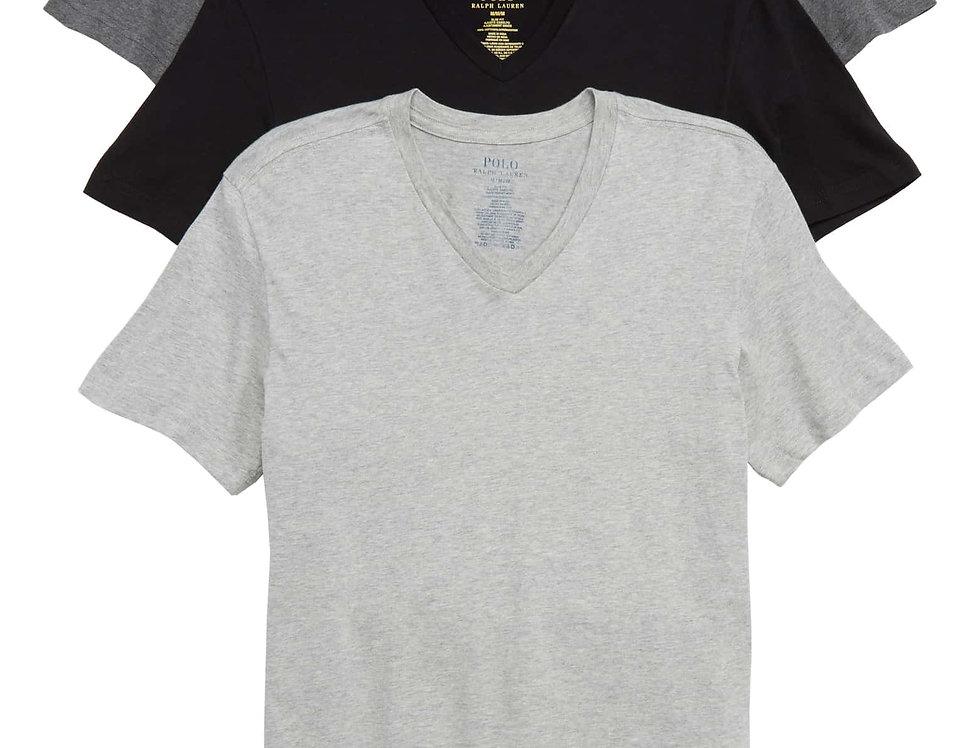 Polo Ralph Lauren 3-Pack Slim Fit V-Neck T-Shirts 51