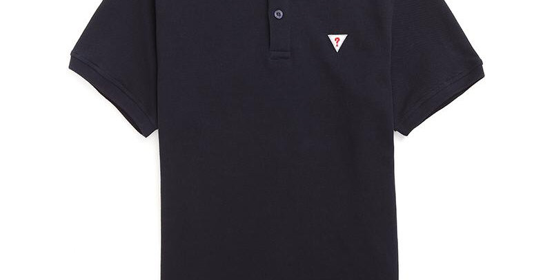 Guess Men's Dark Blue Polo Shirt P90