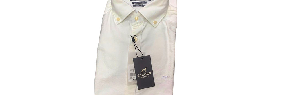 Sacoor Men's Oxford White Shirt P150