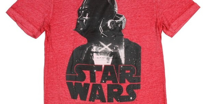 Star Wars Darth Vader Collage Battle Burnout Mens T-Shirt  P16