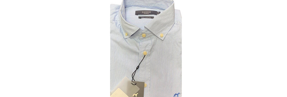 Sacoor Brothers Stopped Soft Cotton Men's Shirt BL00M P150