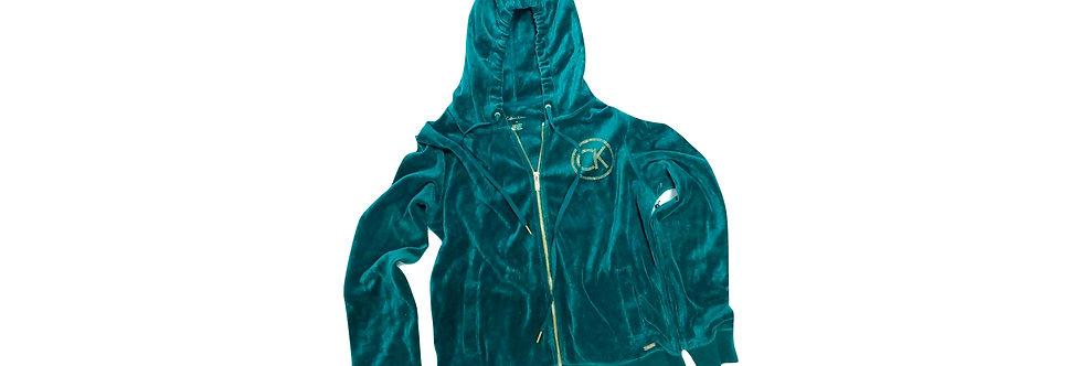 Calvin Klein Women's Suede Hoodie P56