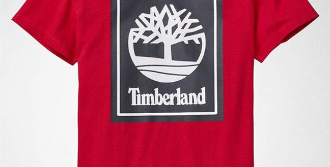 Timberland YCC Tee Logo TB0A1OA2 P92 Red Mens T-Shirts