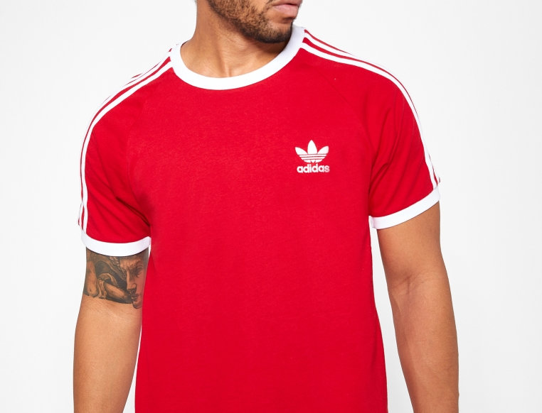 ADIDAS - ORIGINALS 3 Stripe T-Shirt DV1565