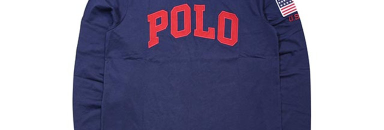 Ralph Lauren Mens Logo Graphic T-Shirt P73