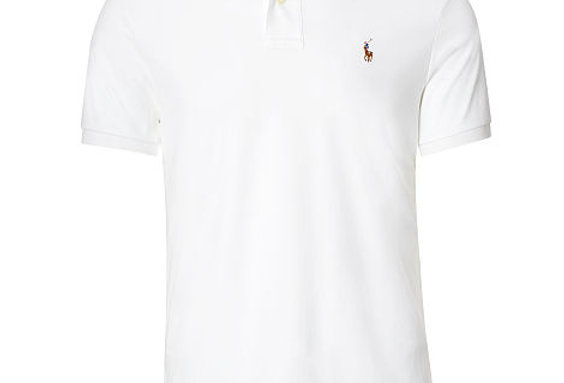 Polo Ralph Lauren Men's White Soft Polo Shirt 111