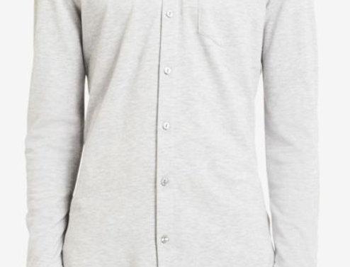 Calvin Klein Men's Mesh Greay Shirt 40h6357 P74