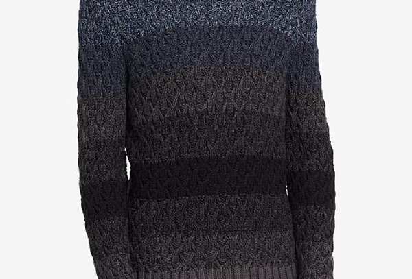 Calvin Klein Jeans Men's Ombre Cable Sweater, Submerge Combo P79