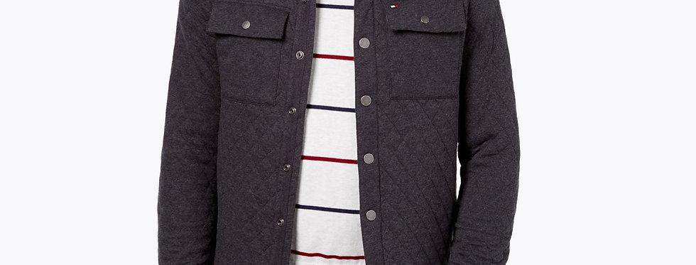 Tommy Hilfiger Men's Thomas Shirt Jacket, Charcoal 120