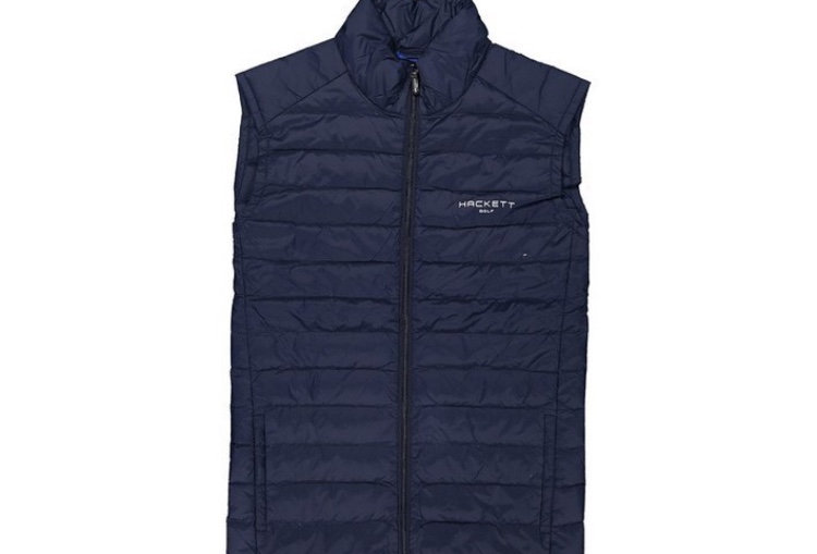 Hackett Men's Navy Blur Vest P99