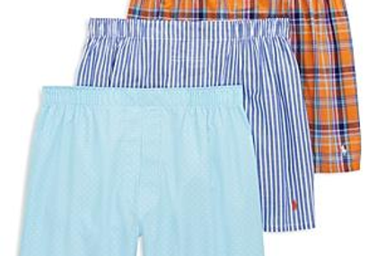 Polo Ralph Lauren Cotton Woven Boxers (Pack of 3) 51