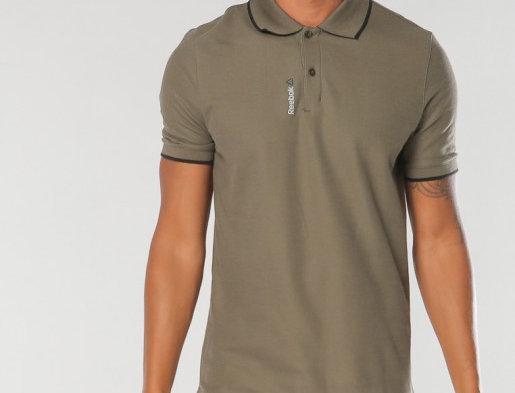 Reebok Olive Men's Polo Shirt P39