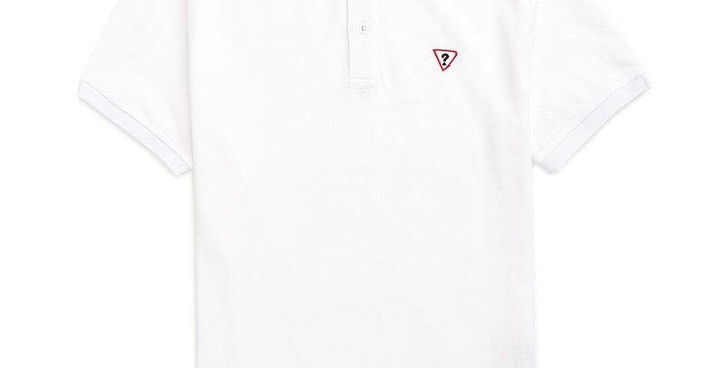 Guess Men's White Polo Shirt P90