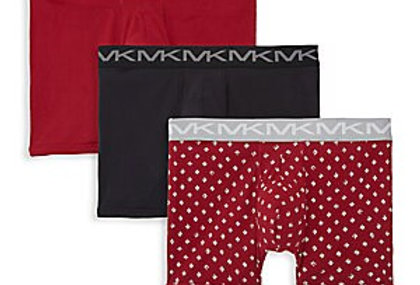 Michael Kors 3-Pack Logo Cotton Boxers