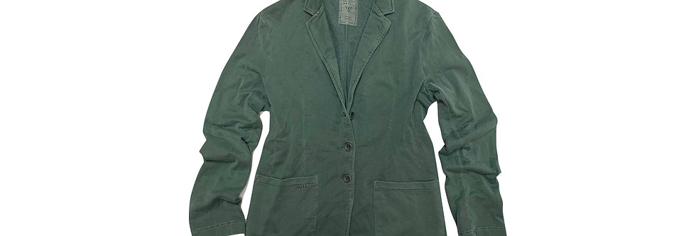 Guess Men's Olive Cotton Blazer P109