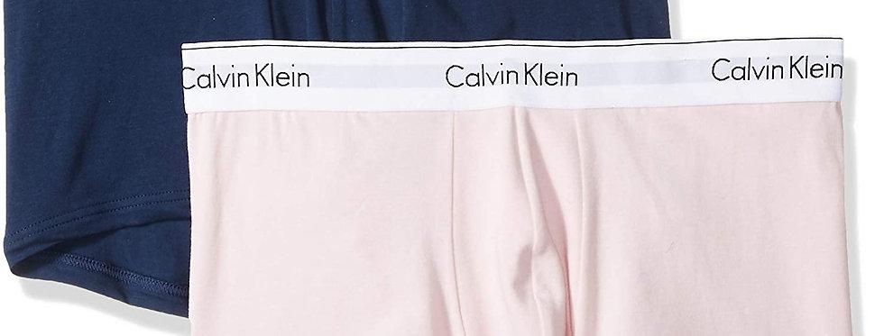 Calvin Klein Men's Underwear Modern Cotton Stretch 2 Pack Trunks