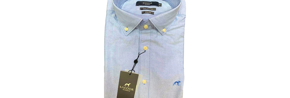 Sacoor Men's Oxford Blue Shirt P150