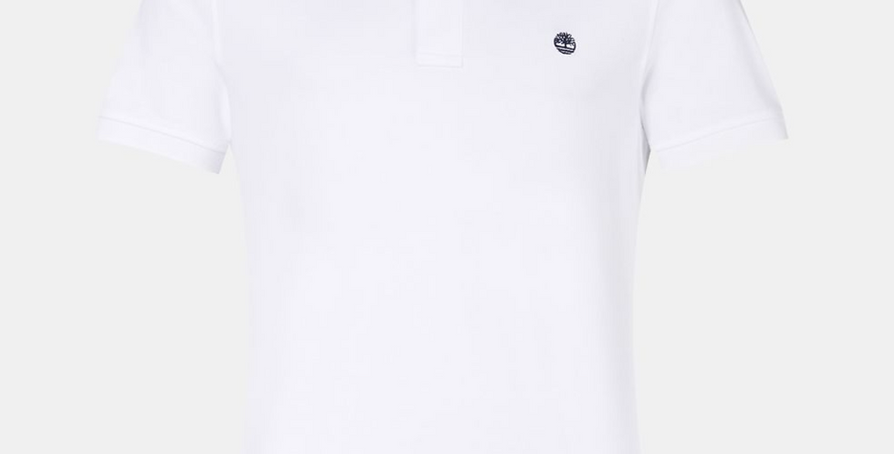 TIMBERLAND MILLERS RIVER White POLO T-SHIRT 80